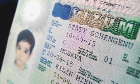 Образец чешской визы ребенку