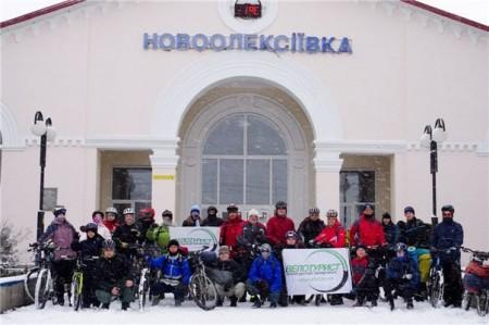 Железнодорожный вокзал Новоалексеевк