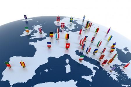 Флажки стран евросоюза
