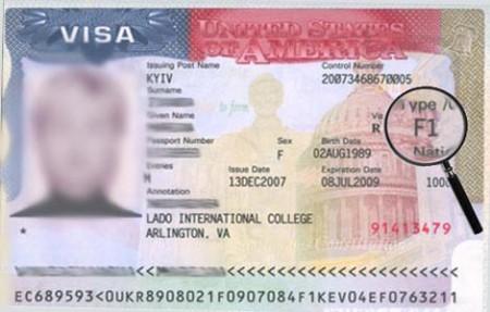 студенческая виза в США (F-1)