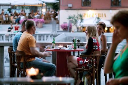 Кафе в Словении