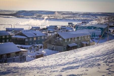 Арктический поселок Саскыпах