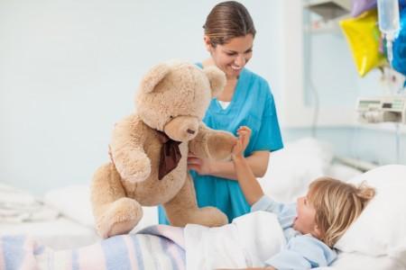 Ребёнок в больнице