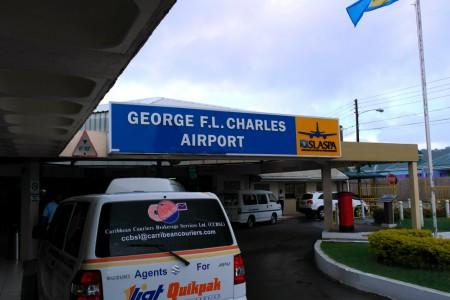 аэропорт Кастри Джордж Чарльз