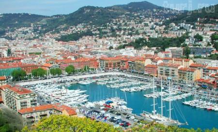 Лазурный берег Франции - город Ницца