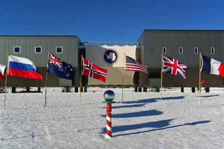 полярные станции стран мира в Антарктиде