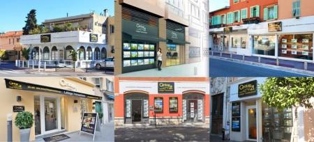 Ницца - Французская Ривьера. 6 агентств по недвижимости
