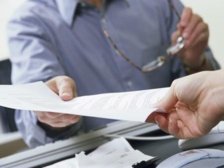 Выдача документов