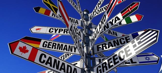 Страны для эмиграции из России