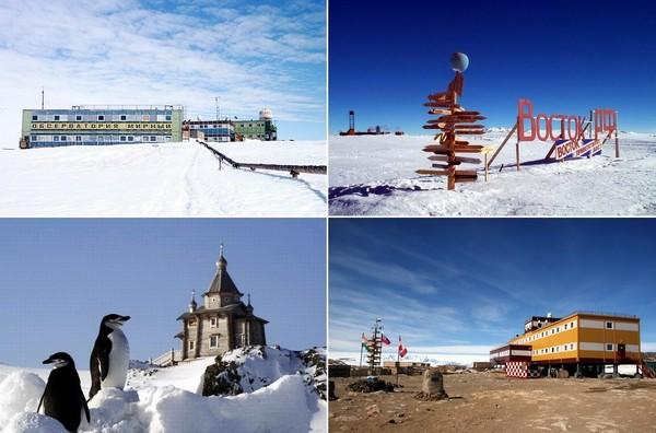 советские и российские антарктические станции