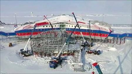 Стройка в Арктике