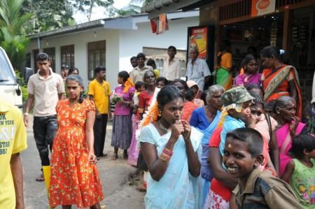 Люди на Шри-Ланке