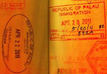Виза в Палау