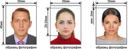 фотографии для визы