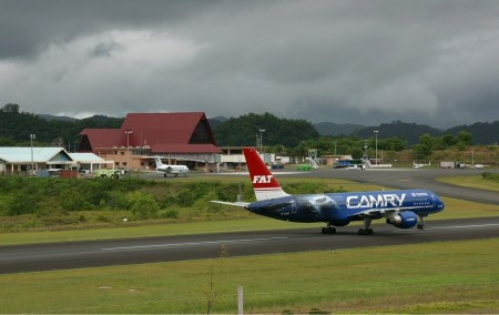 Самолёт в аэропорту Палау