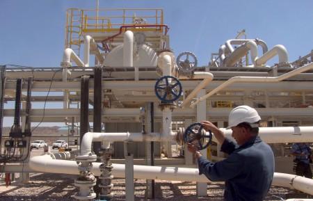 Работа в нефтяном секторе в СА