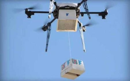 Доставка В США при помощи дронов