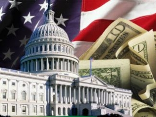 Флаг и деньги США