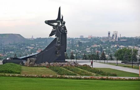 Донбасс, монумент освободителям