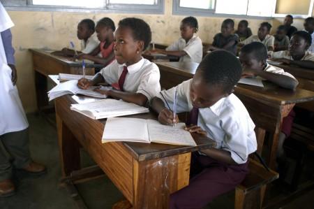 начальная школа в Зимбабве