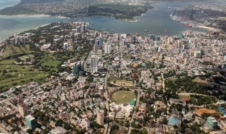 крупнейший город Танзании-Дар-эс-Салам