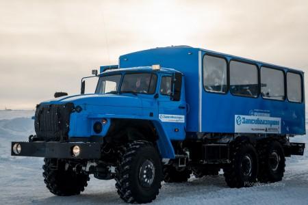 Рабочие компании ООО «Запсибгазпром-Газификация»