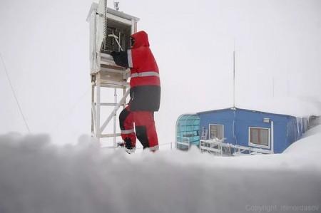 метеорологическая станция на Земле Франца-Иосифа