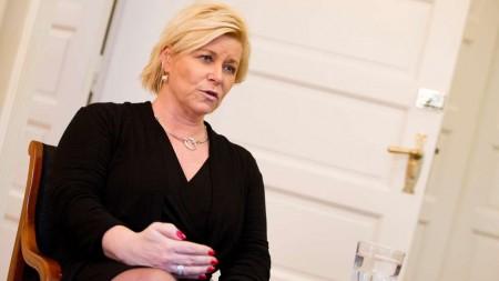 норвежский министр финансов Сив Йенсен