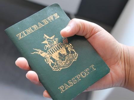паспорт гражданина Зимбабве