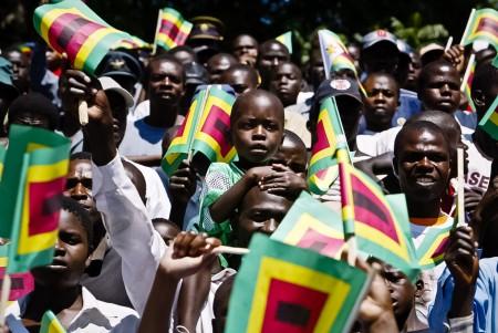 население в Зимбабве