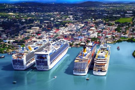 круизные лайнеры в Антигуа и Барбуда