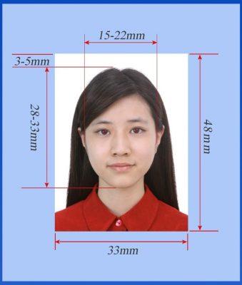 виза в китай требования к фото