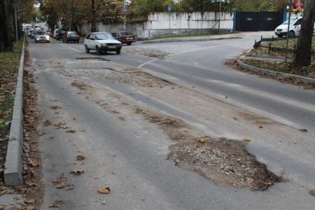 дороги в Севастополе