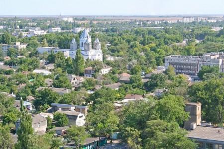 Вид на город Джанкой