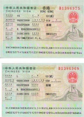 виза в Гонконг и Китай