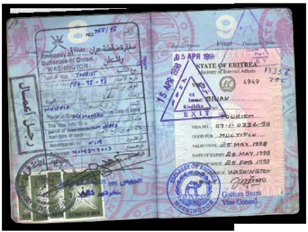 Виза в Эритрею