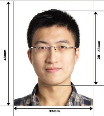фото на китайскую визу