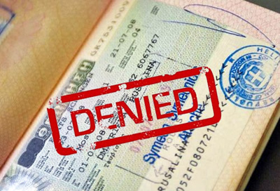 Отказ шенгенской визы