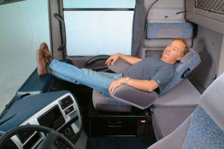 Водитель на отдыхе