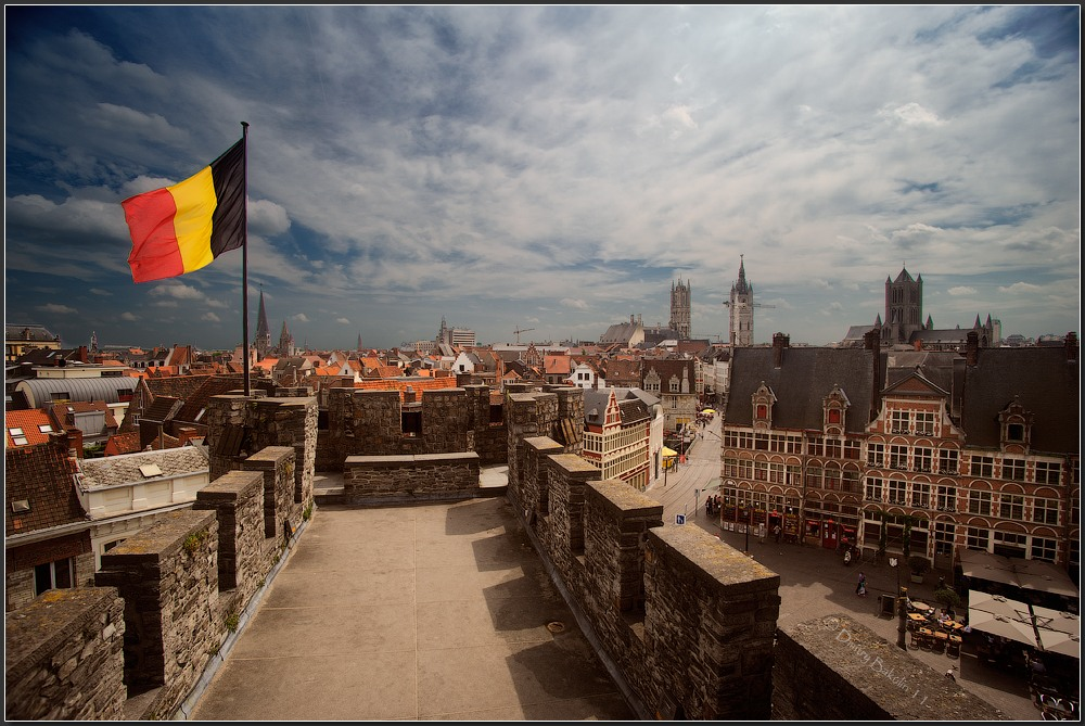 Развитие экономики, сферы услуг и ВВП Бельгии на душу населения