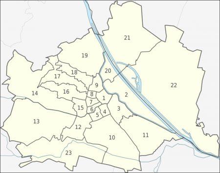 районы Вены
