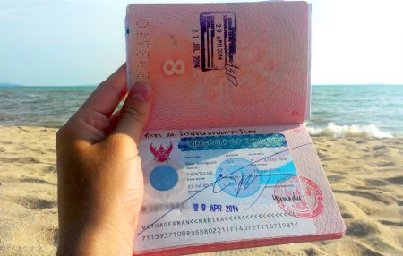 долгосрочная виза в Таиланд в загранпаспорте
