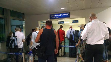 виза во Вьетнам в аэропорту