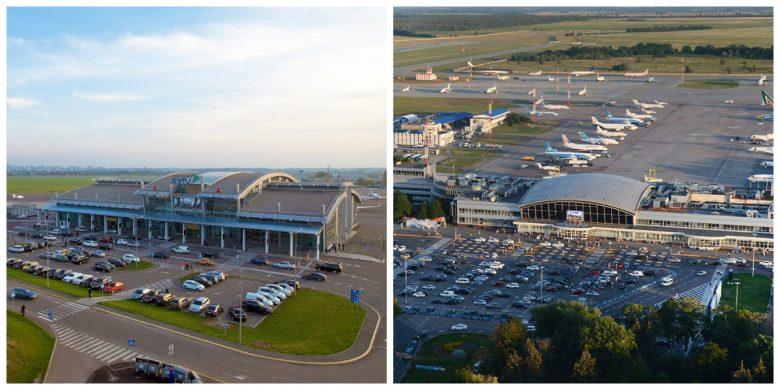 Аэропорты Жуляны и Борисполь