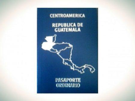 паспорт Гватемалы