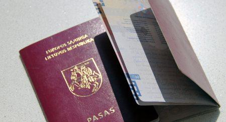 Паспорт гражданина Литвы