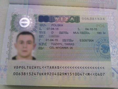 долгосрочная виза в Польшу категории D