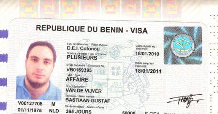 виза в Бенин