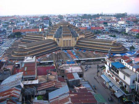столица Камбоджи-Пномпень