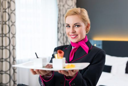 Работа официанта во Франции